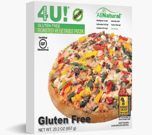 Multiserve Gluten Free Roasted Vegetable Pizza