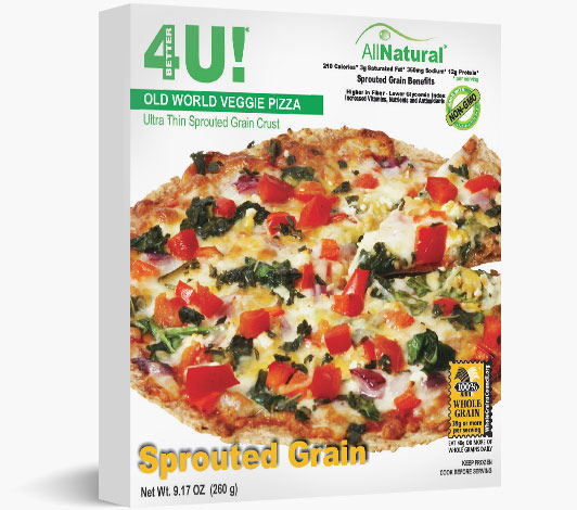 Old World Veggie Thin Crust Pizza