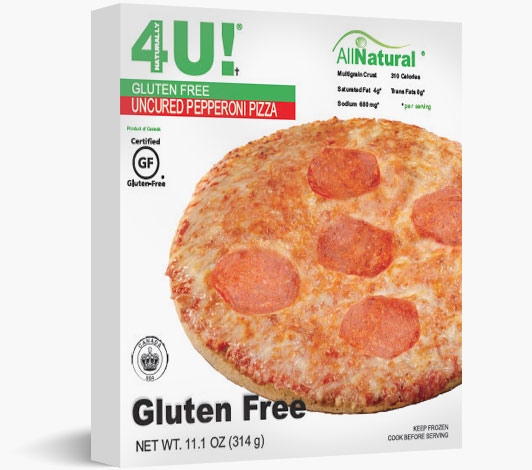 Personal Size Gluten Free Uncured Pepperoni Pizza
