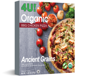organic chicken pizza